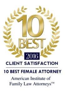 10 best female attorneys award