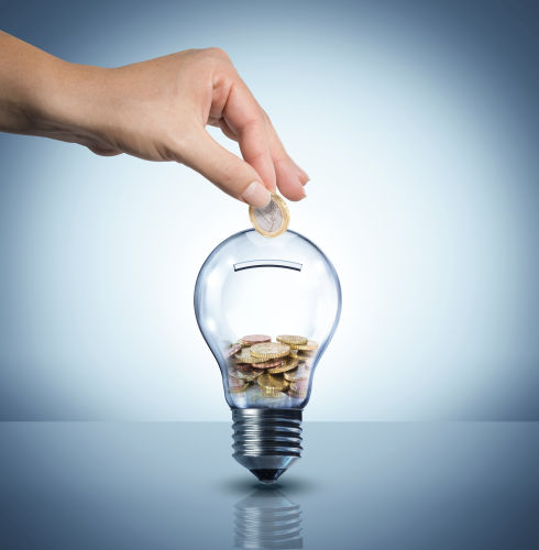 putting money into a lightbulb - Law Office of Shelly Ingram