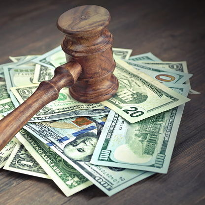 Gavel and Money - Expenses in Divorce