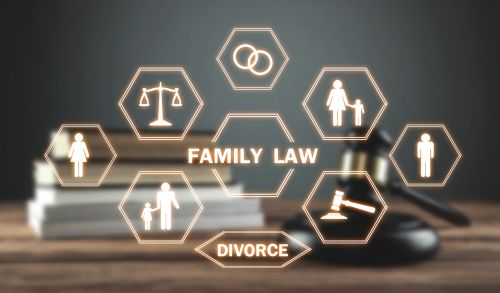 Family Law Attorney Icons