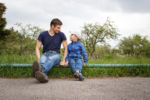 Father talking to young son about divorce - Law Office of Shelly Ingram